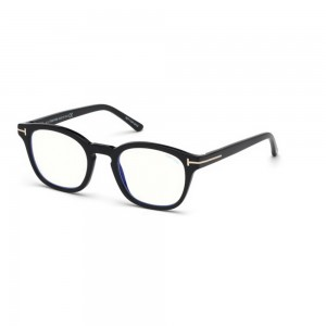 occhiali-da-vista-tom-ford-ft5532-b-01v-49-21-140-uomo-nero-lucido-lenti-blu-protect-con-clip-on-da-sole
