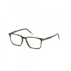 occhiali-da-vista-tom-ford-ft5607-b-052-55-16-145-uomo-avana-scura-lenti-blu-protect
