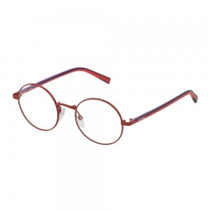 occhiali-da-vista-sting-emoji-1-vsj411-0480-44-18-135-unisex-rosso-pieno-lucido