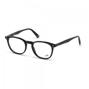 occhiali-da-vista-web-we5279-001-49-19-145-unisex-nero-lucido