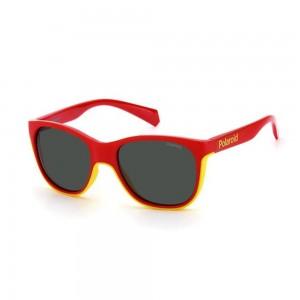 occhiali-da-sole-polaroid-pld8043-s-ahy-47-16-125-junior-rosso-avorio-beige-lenti-grey-polarizzato