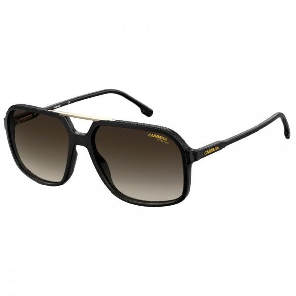 occhiali-da-sole-carrera-229-r60-59-16-145-unisex-black-brown-lenti-brown-sfumato