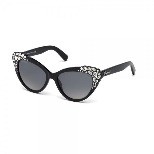 occhiali-da-sole-dsquared2-donna-nero-lenti-fumo-gradient-dq0168-s-05b-56-17-140
