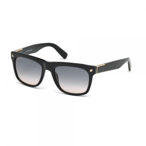 occhiali-da-sole-dsquared2-unisex-nero-lucido-lenti-fumo-gradient-dq0212-s-01b-54-19-145