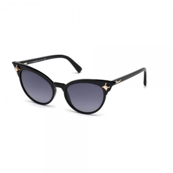 occhiali-da-sole-dsquared2-donna-nero-lucido-lenti-fumo-gradient-dq0239-s-01b-53-18-140