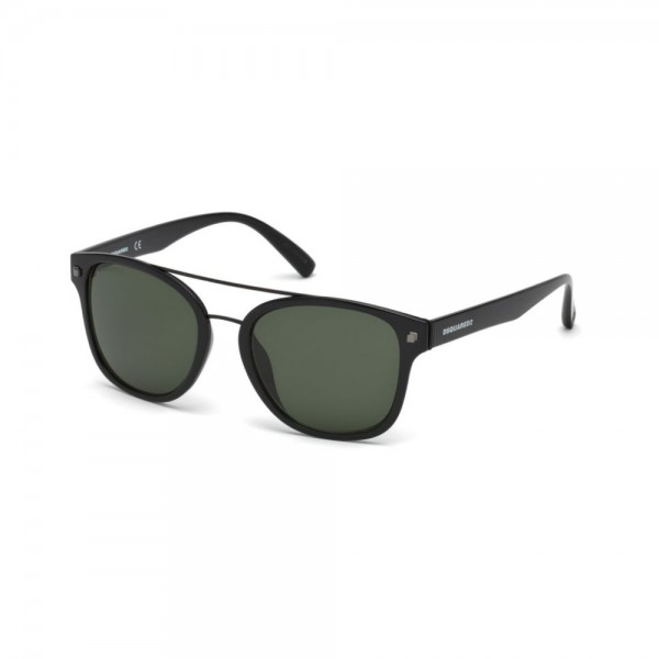 occhiali-da-sole-dsquared2-unisex-nero-lucido-lenti-grigio-verde-dq0256-s-01n-53-19-145