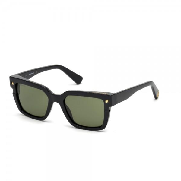 occhiali-da-sole-dsquared2-unisex-nero-lucido-lenti-grigio-verde-dq0269-s-01n-51-19-140