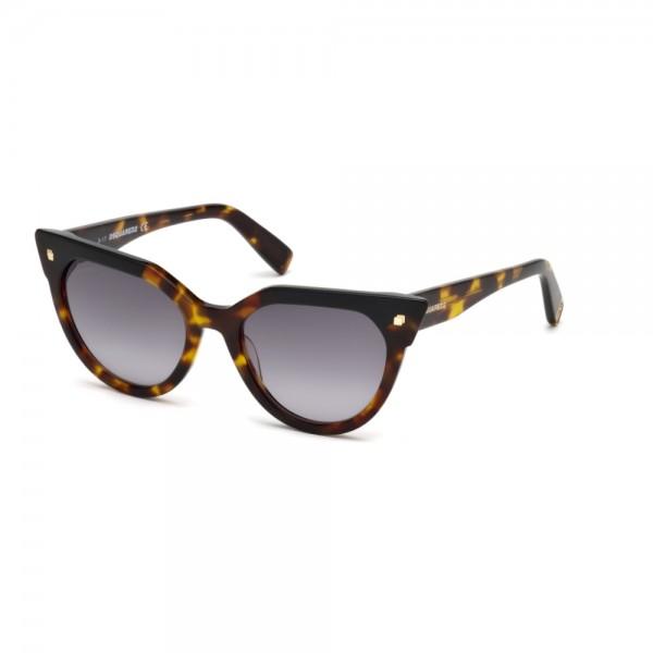 occhiali-da-sole-dsquared2-dq0277-s-52b-53-19-140-donna-avana-scuro-lenti-fumo-gradient