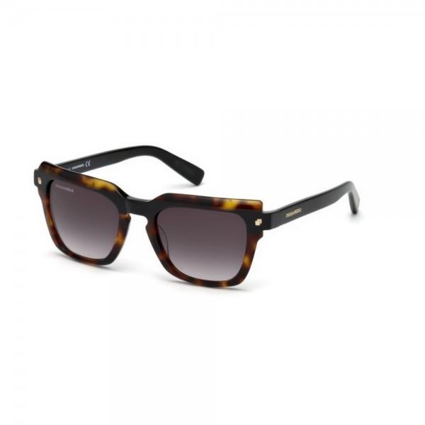 occhiali-da-sole-dsquared2-unisex-avana-lenti-fumo-gradient-dq0285-s-56b-51-20-140