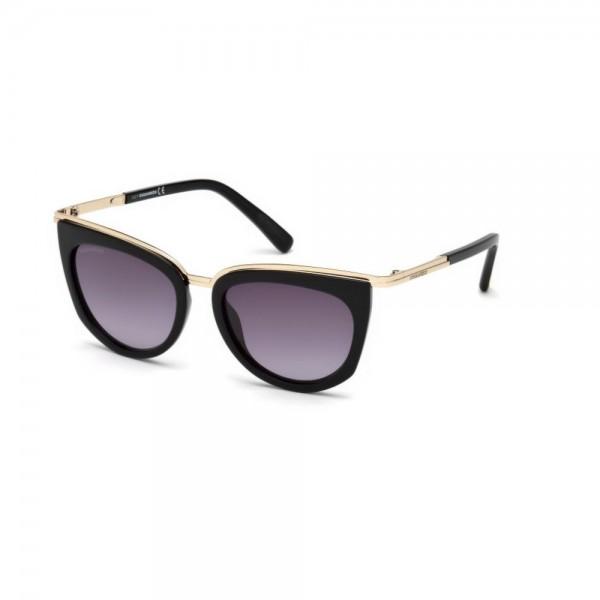 occhiali-da-sole-dsquared2-donna-nero-lucido-lenti-fumo-gradient-dq0290-s-01b-52-18-135