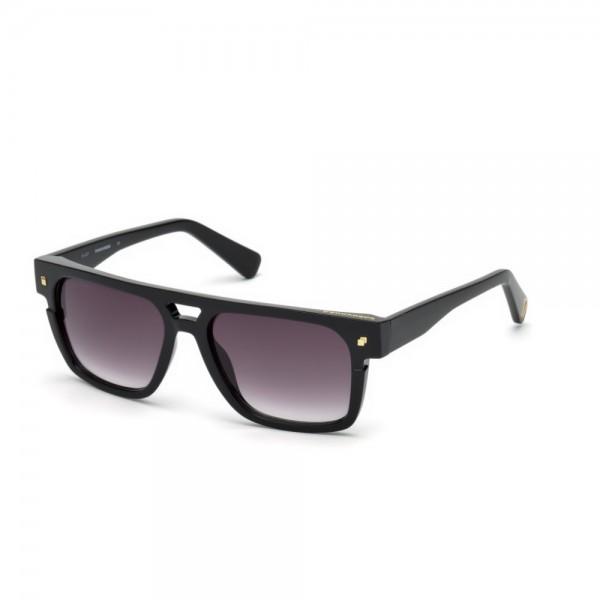 occhiali-da-sole-dsquared2-unisex-nero-lucido-lenti-fumo-gradient-dq0294-s-01b-55-17-140
