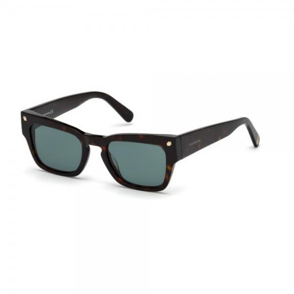 occhiali-da-sole-dsquared2-unisex-avana-scuro-lenti-grigio-verde-dq0299-s-52n-51-20-150