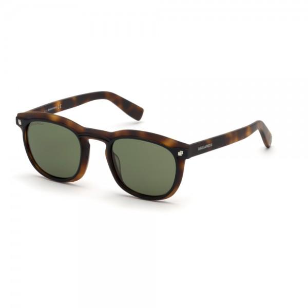 occhiali-da-sole-dsquared2-dq0305-s-52n-49-22-145-unisex-avana-scuro-lenti-verde