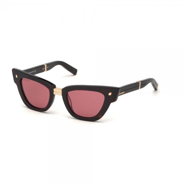 occhiali-da-sole-dsquared2-dq0331-s-52s-50-22-140-unisex-avana-scura-lenti-bordeaux-frontale-divisibile-anniversario-dsquared2