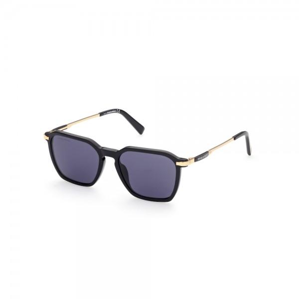 occhiali-da-sole-dsquared2-dq0362-01v-52-17-145-unisex-nero-oro-lenti-blu