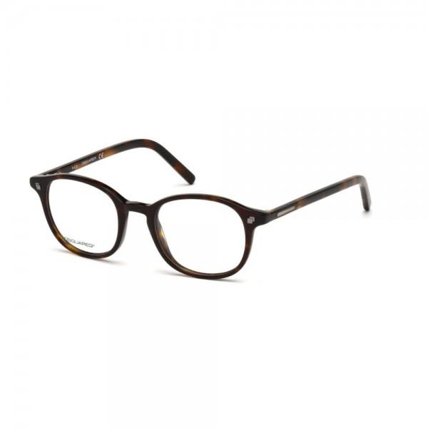 occhiali-da-vista-dsquared2-avana-scuro-unisex-dq5124-052-48-20-145