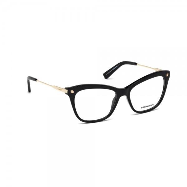 occhiali-da-vista-dsquared2-nero-lucido-donna-dq5194-001-53-16-135