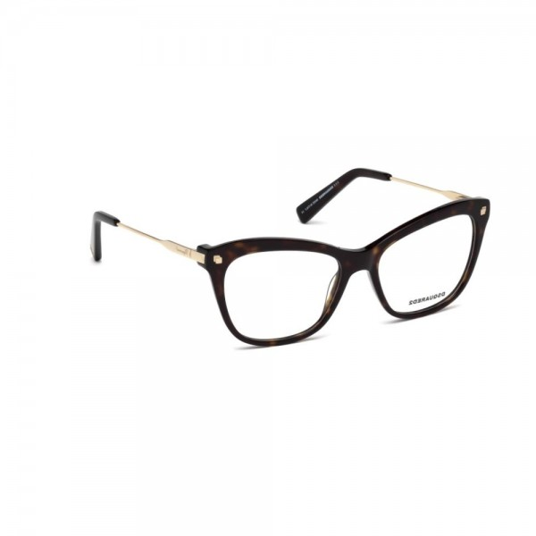 occhiali-da-vista-dsquared2-avana-scura-donna-dq5194-052-53-16-135