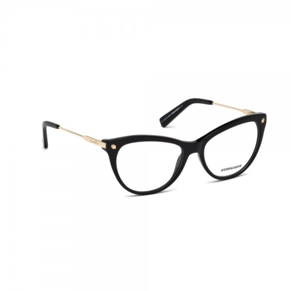occhiali-da-vista-dsquared2-nero-lucido-donna-dq5195-001-54-16-135