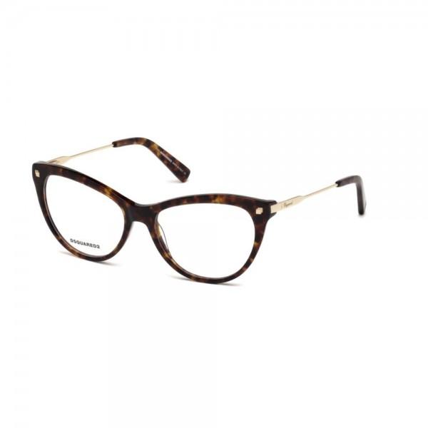 occhiali-da-vista-dsquared2-avana-scura-donna-dq5195-055-54-16-135