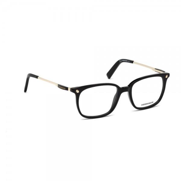 occhiali-da-vista-dsquared2-nero-lucido-unisex-dq5198-001-51-18-145