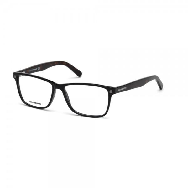 occhiali-da-vista-dsquared2-nero-lucido-uomo-dq5201-001-55-15-145