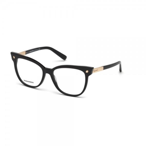 occhiali-da-vista-dsquared2-nero-lucido-donna-dq5214-001-54-16-140