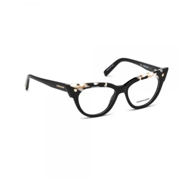 occhiali-da-vista-dsquared2-nero-perla-donna-dq5235-005-50-16-140