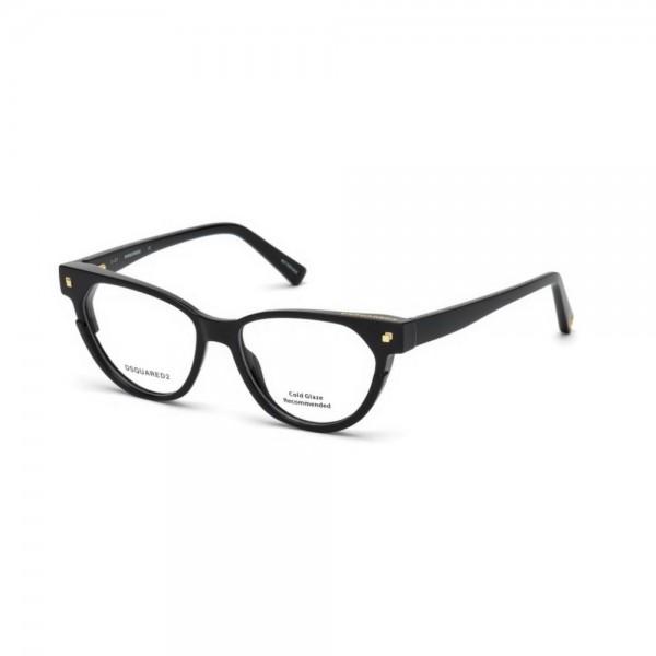 occhiali-da-vista-dsquared2-nero-lucido-donna-dq5248-001-50-15-140