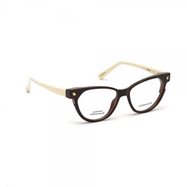 occhiali-da-vista-dsquared2-avana-bionda-donna-dq5248-053-50-15-140