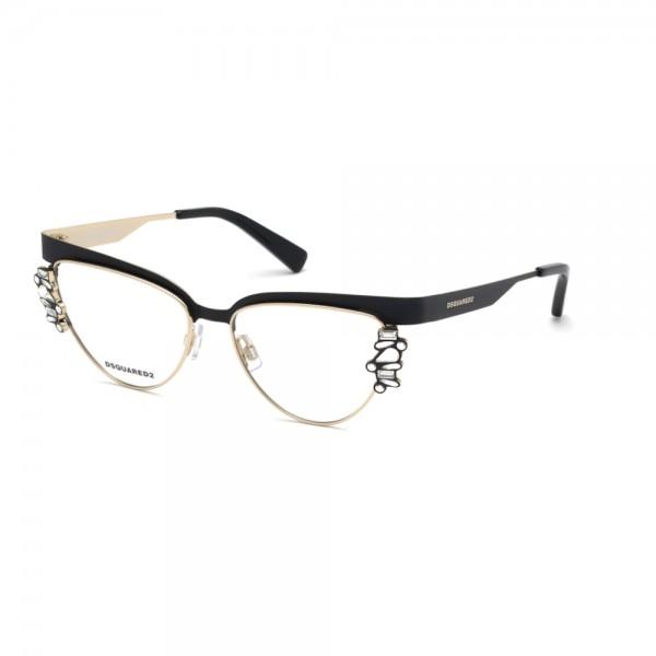 occhiali-da-vista-dsquared2-dq5276-002-52-15-135-nero-opaco-donna