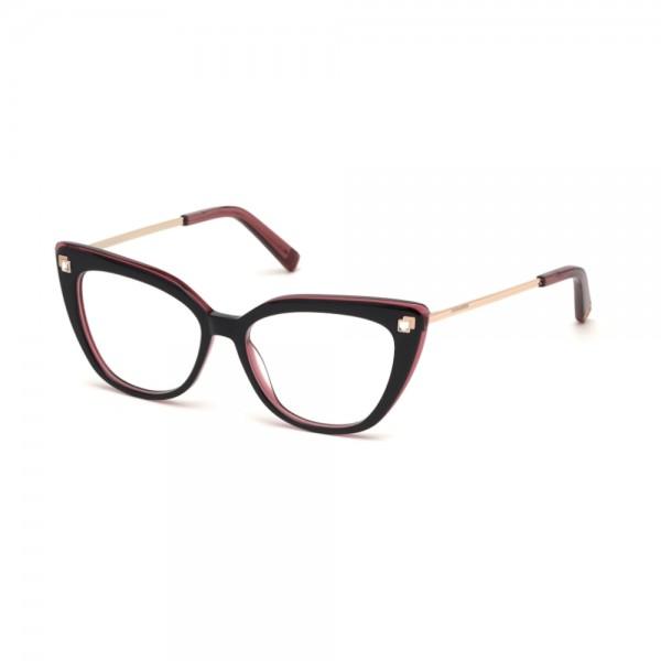 Occhiali da Vista Dsquared2 DQ5289 077 52-15-140 nero fucsia donna
