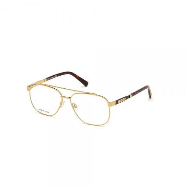 occhiali-da-vista-dsquared2-dq5309-030-57-14-145-unisex-oro-lucido