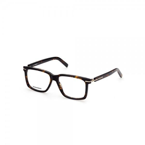occhiali-da-vista-dsquared2-dq5312-052-55-15-145-unisex-avana-scura