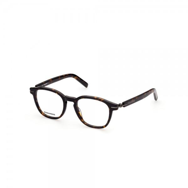 occhiali-da-vista-dsquared2-dq5313-052-50-20-145-unisex-avana-scura