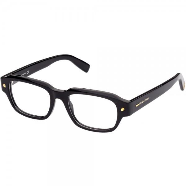 occhiali-da-vista-dsquared2-dq5317-001-51-18-150-unisex-nero-lucido