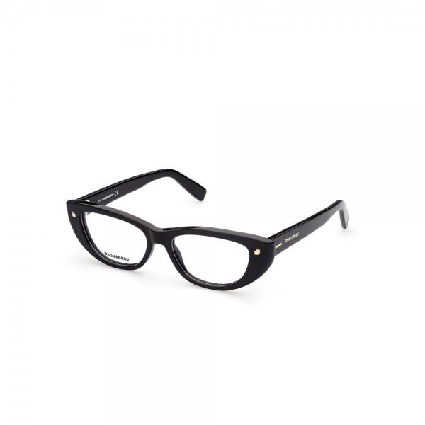 occhiali-da-vista-dsquared2-dq5318-001-53-16-145-donna-nero-lucido