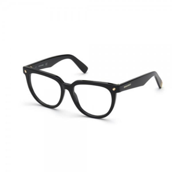occhiali-da-vista-dsquared2-dq5327-001-52-16-140-donna-nero-lucido