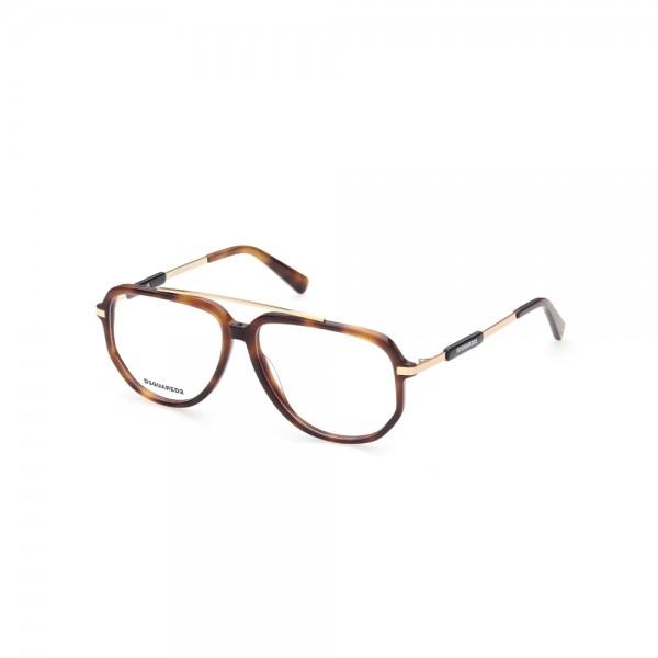 occhiali-da-vista-dsquared2-dq5339-052-56-13-145-unisex-avana-scura