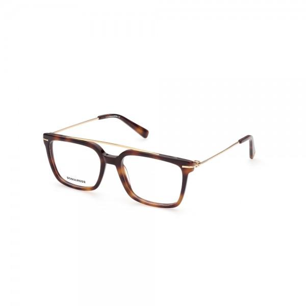 occhiali-da-vista-dsquared2-dq5341-052-54-18-145-unisex-avana-scura