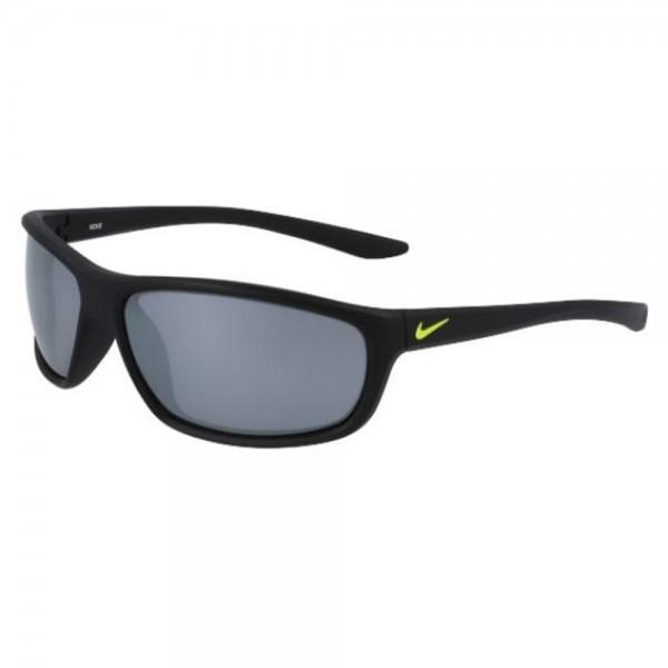 occhiali-da-sole-nike-dash-ev1157-071-58-13-118-junior-matt-black-lenti-grey-silver-flash