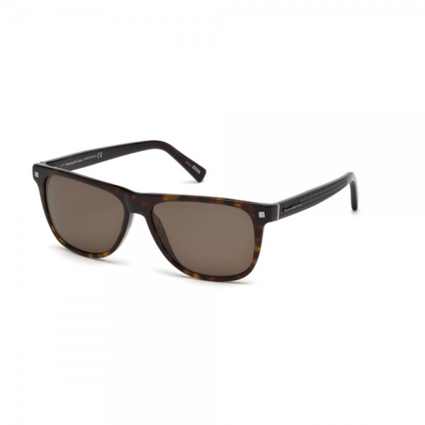 occhiali-da-sole-ermenegildo-zegna-uomo-avana-scuro-lenti-brown-polarizzato-ez0074-s-52m-57-15-145