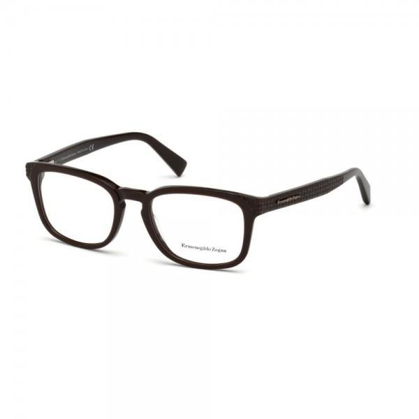 occhiali-da-vista-ermenegildo-zegna-marrone-scuro-uomo-ez5109-050-52-19-145