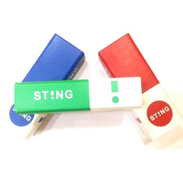 occhiali-da-sole-sting-trend-2-unisex-canna-di-fucile-lucido-lenti-green-sst192-0k59-54-16-145