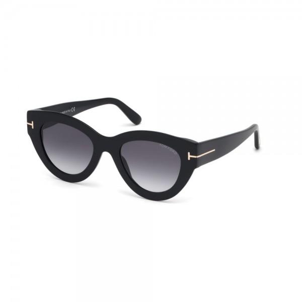 occhiali-da-sole-tom-ford-donna-nero-lucido-lenti-fumo-sfumato-ft0658-01b-51-21-140