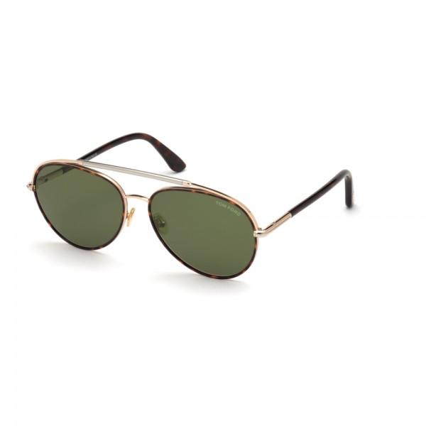 occhiali-da-sole-tom-ford-ft0748-52n-59-16-140-uomo-avana-scuro-lenti-verde