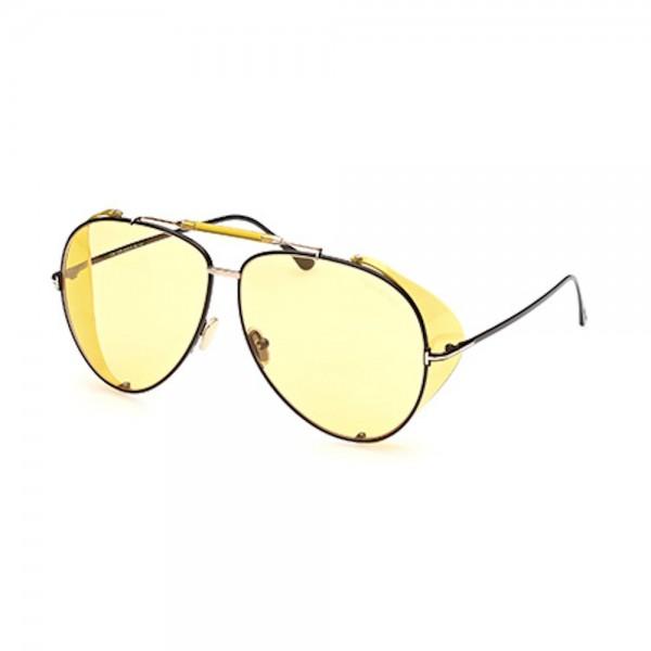 occhiali-da-sole-tom-ford-ft0900-01e-62-11-140-uomo-nero-lucido-lenti-marrone-chiaro