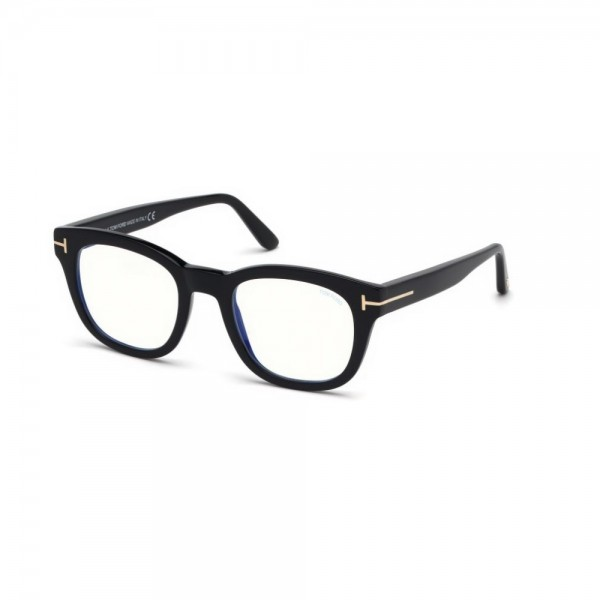 occhiali-da-vista-tom-ford-uomo-nero-lucido-lenti-blu-protect-ft5542-b-001-50-22-145