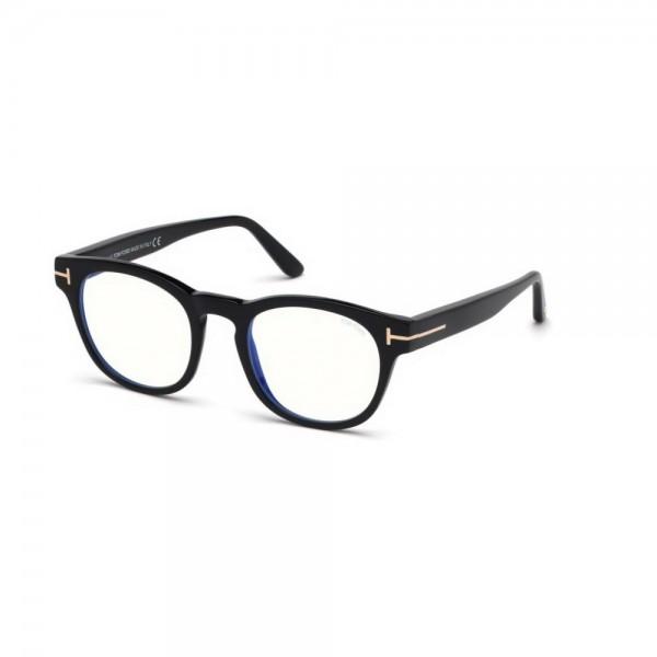 occhiali-da-vista-tom-ford-uomo-nero-lucido-lenti-blu-protect-ft5543-b-001-48-21-145