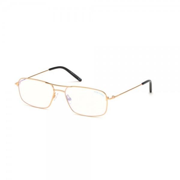 occhiali-da-vista-tom-ford-uomo-oro-endura-lucido-lenti-blu-protect-ft5582-b-030-57-16-145